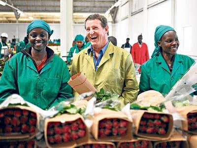 Кто самый крупный заказчик Кенийских цветов? - 2